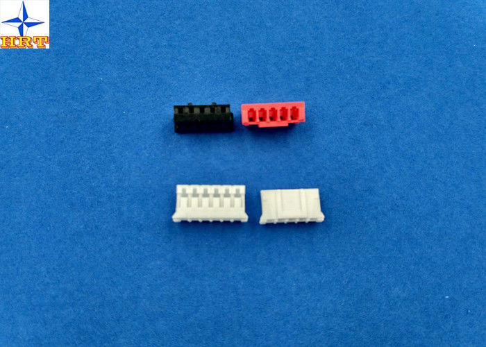Single Row Board To Wire Connectors Pitch 2.00mm PA66 Housing With Lock Top Entry Type Connector