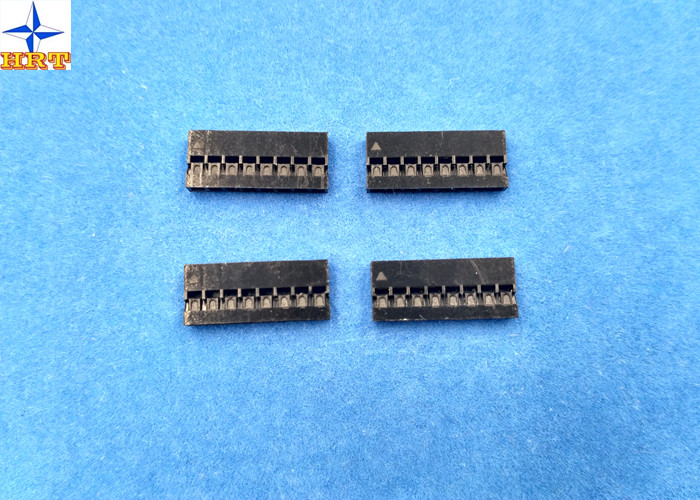 Single row 2.0mm pitch Dupont wire-to- board connector with gold ...