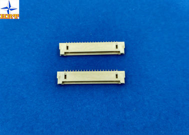Chiny 1.25mm Pitch right angle Wafer Connector, DF14 wire connector, side entry type shrouded header fabryka