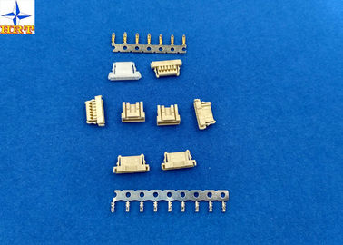 Chiny Yellow PCB Connectors Wire To Board , 6 Pin Connector Single Row Housing fabryka