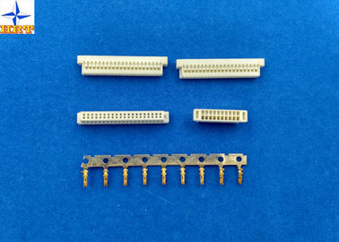 Chiny 1.0mm pitch dual row wire housing wire to board connector for ACES 88252 equivalent fabryka