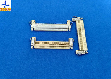 Chiny Electronic Tablet PC Lvds Connectors1mm Crimp Style , White Color 30 Pin Connector fabryka
