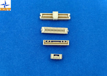 Chiny 180 degree vertical SMT Wafer Connector with 1.25mm pitch brass pin PCB Connector fabryka