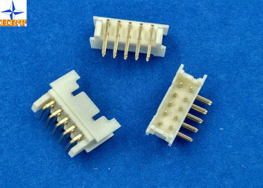 Chiny wafer connector with 2.00mm pitch vertical or right angle shrouded header wire to board connector fabryka