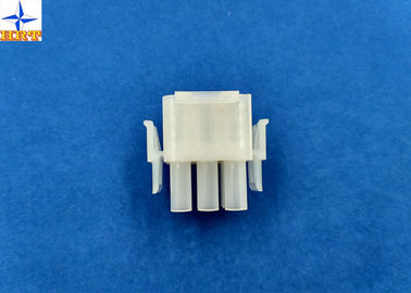 Chiny 6.35mm Pitch Wire To Wire Connectors Triple Row PA66 Material Crimp type Power Connector fabryka